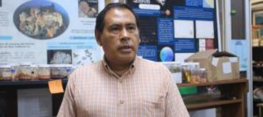 Carlos Sánchez Ortiz, biólogo marino de la UABCS, colaboró en investigación de Discovery Channel sobre especies marinas tóxicas