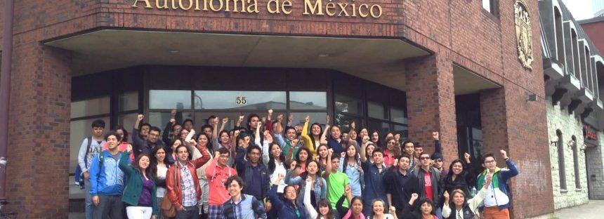 La UNAM ha formado 27 mil 612 estudiantes y seis mil 888 académicos extranjeros; se fortalece su influencia global