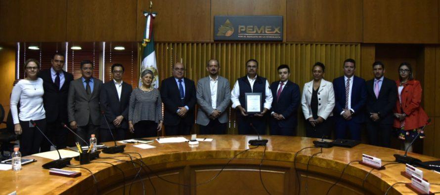 Apuesta Pemex por capacitación y certificación para elevar la competitividad