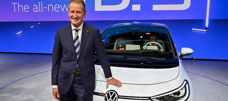 Volkswagen presenta su coche eléctrico para clases medias