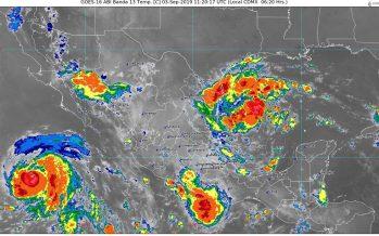 Pronostican lluvias torrenciales para Tamaulipas y Veracruz, e intensas para Nuevo León
