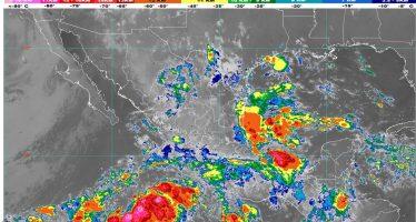 Para Guerrero, Oaxaca, Chiapas y Veracruz se pronostican lluvias intensas con descargas eléctricas