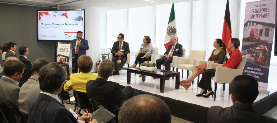 México y Alemania dan inicio al Programa de Transporte Sustentable