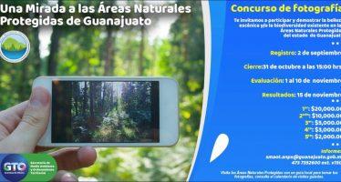 Concurso de fotografía: Una mirada a las áreas protegidas naturales de Guanajuato