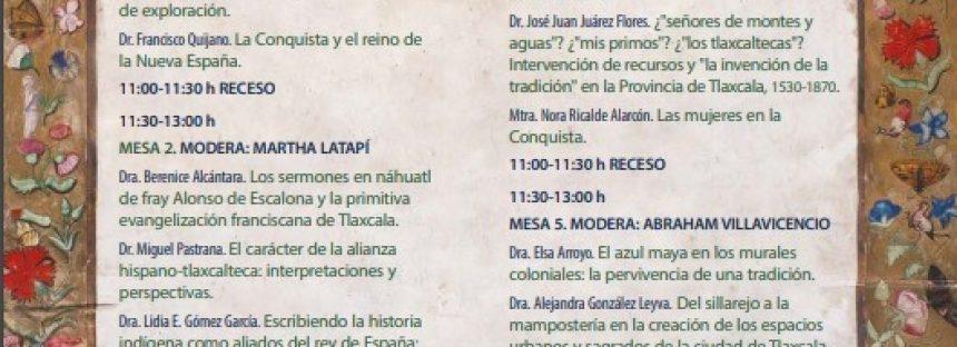 Congreso Pensar la Conquista desde Tlaxcala, 500 años
