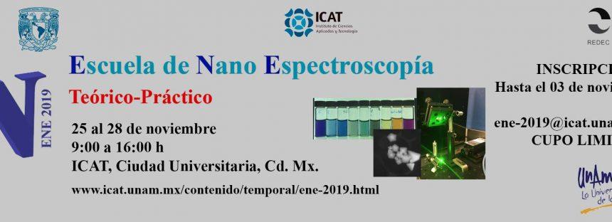 Escuela de Nano Espectroscopía