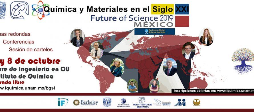 Química y Materiales en el Siglo XXI Future of Science 2019 México