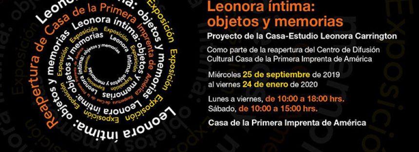 Leonora íntima: objetos y memorias