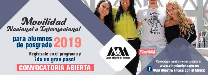 Movilidad Nacional e Internacional 2019