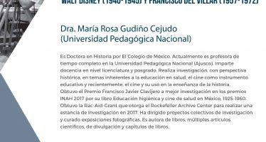 Conferencia: Cine de salud en México. Representaciones filmicas de Walt Disney (1940-1945) y Francisco Del Villar (1957-1972)
