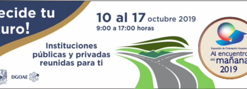 """Exposición de orientación vocacional """"Al encuentro del mañana 2019"""""""
