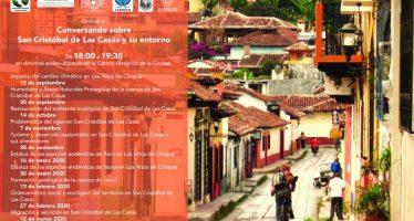 Conversatorio sonbre San Cristóbal de Las Casas y su entorno