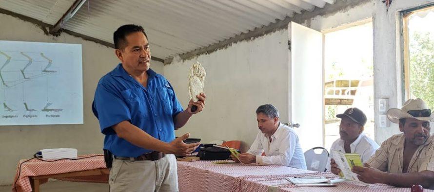 Capacitan ganaderos en la Reserva de la Biósfera Marismas Nacionales, Nayarit del corredor biológico Toro Mocho – La Bajada