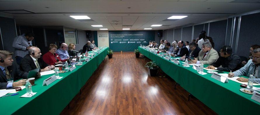 México y EUA concertan acciones en materia de ordenación y conservación de recursos pesqueros