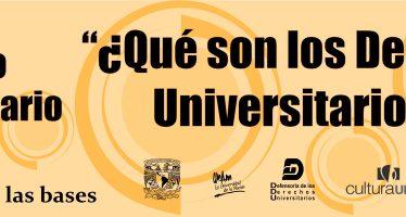 Segundo concurso universitario de vídeo: ¿Qué son los derechos universitarios?