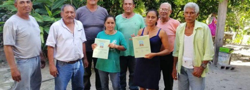 ECOSUR apoya creación de la Sociedad Cooperativa Yiyos Agrosemillas