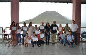 Acreditan a vigilantes comunitarios en el APFF Islas del Golfo de California, Sinaloa