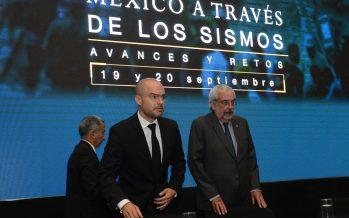 Los sismos, parte de nuestra historia: rector Enrique Graue