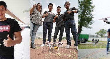 Crean dron que localiza a víctimas de inundaciones, sismos e incendios