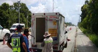 Detectan el manejo inadecuado de 8 toneladas de residuos peligrosos