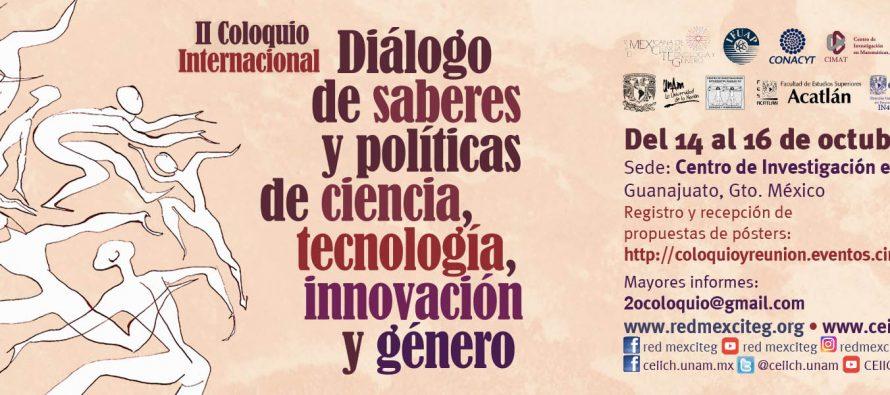 II Coloquio Internacional Diálogo de Saberes y Políticas de Ciencia, Tecnología, Innovación y Género