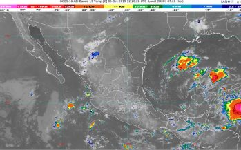 En las próximas horas se prevén lluvias intensas para Guerrero, Oaxaca y Chiapas