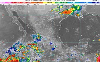 Lluvias intensas se pronostican para Tamaulipas, Puebla y Veracruz
