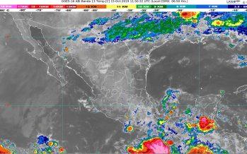 Hoy se prevén lluvias intensas en Oaxaca y Chiapas
