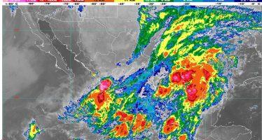 Prevén lluvias extraordinarias en Guerrero y Veracruz y torrenciales en Jalisco, Colima, Michoacán, Oaxaca, Chiapas, Puebla e Hidalgo