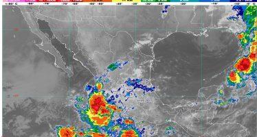 Se pronostican lluvias intensas en zonas de Colima, Jalisco y Michoacán