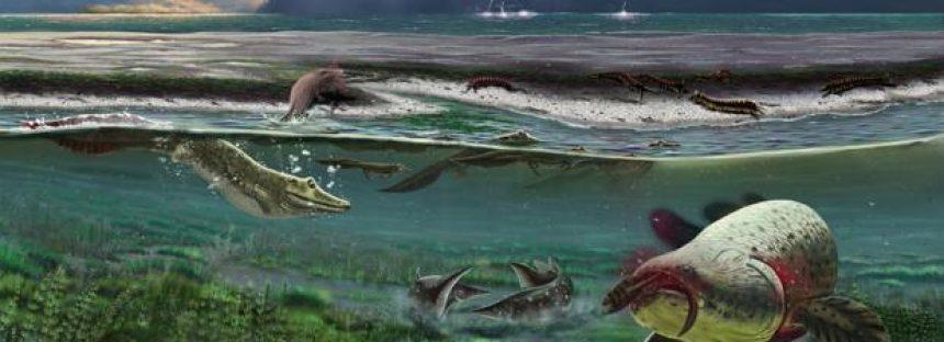 Descubren el «antepasado perdido» del primer animal que caminó sobre la tierra