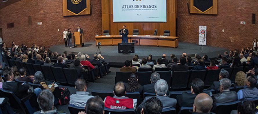 UNAM presenta su atlas de riesgos
