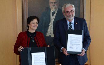 Realizan firma de convenio entre UNAM y Conagua para expandir el conocimiento hídrico