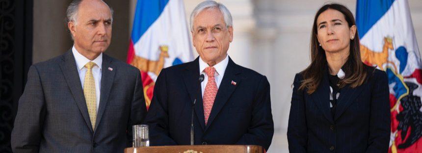 Presidente de Chile anuncia la suspensión de la APEC y la COP25