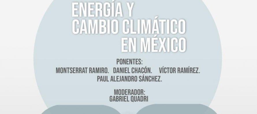 Conversatorio: Energía y cambio climático en México