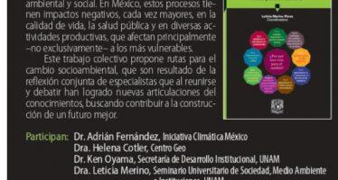 Presentación del libro: Crisis ambiental en México. Ruta para el cambio