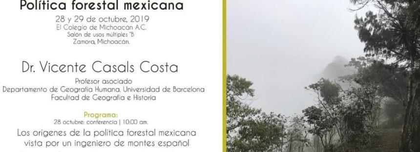 Política forestal mexicana