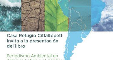 Presentación del libro: Periodismo ambiental en América Latina y el Caribe: Botiquín de superación