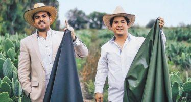 Mexicanos inventan piel hecha a base de nopal