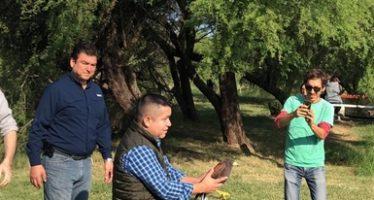Realizan la liberación de aves rapaces rescatadas por la ciudadanía