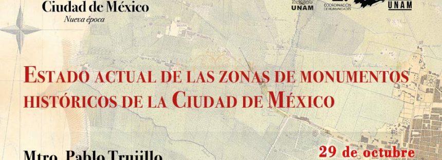 Estado actual de las Zonas de Monumentos Históricos de la Ciudad de México