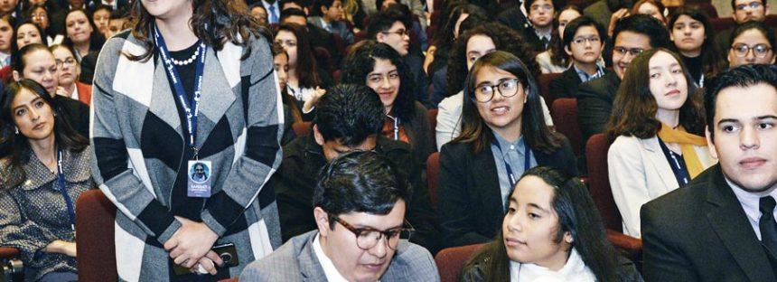 Debate juvenil sobre cambio climático y derechos humanos