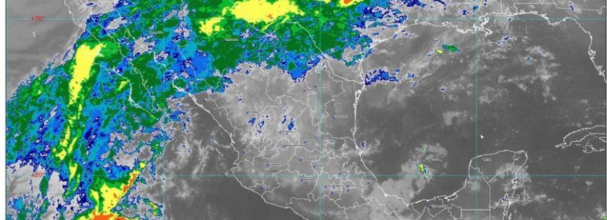 Se prevén lluvias intensas en Nuevo León y Tamaulipas y muy fuertes en Coahuila