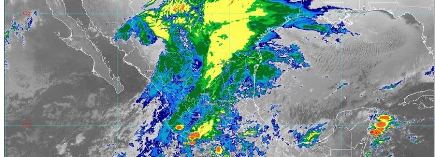 Se mantendrá ambiente frío en el norte, noreste y oriente de México con posible caída de lluvia engelante o aguanieve en tres estados