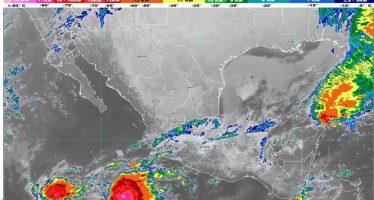 Lluvias intensas se pronostican para hoy en Veracruz, Oaxaca, Chiapas y Tabasco