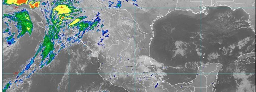 En Sonora, Chihuahua, Durango y Sinaloa se pronostican para hoy lluvias muy fuertes