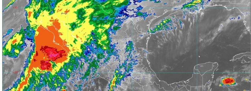 La Segunda Tormenta Invernal ocasionará descenso de temperatura, vientos fuertes y lluvias intensas en el noroeste y el norte de México