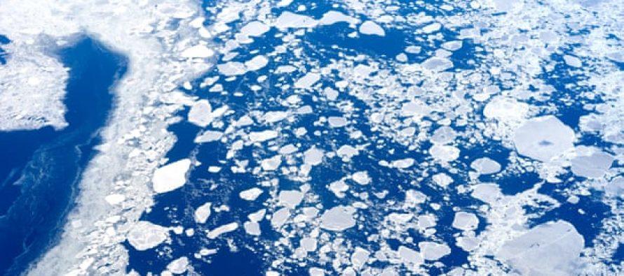 Exploradores del Polo Norte sobre hielo delgado mientras el cambio climático golpea la expedición