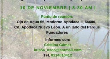 Voluntariado: Arroyo Topo Chico