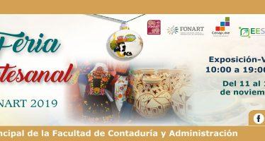 Sexta feria artesanal UNAM-FONART 2019